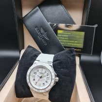 Breitling Superocean GMT Сталь Белый Aрабские