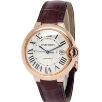 Cartier Ballon Bleu 42mm Rose gold 42mm Silver Roman numerals United States of America, New York, Hartsdale