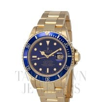 Rolex 16808 Yellow gold 1983 Submariner Date 40mm pre-owned United States of America, New York, Hartsdale