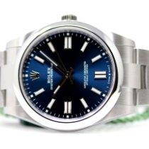 Rolex Oyster Perpetual Acero 41mm Azul Sin cifras España, Madrid