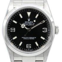 Rolex Explorer Acier 36mm Noir Arabes France, Lyon