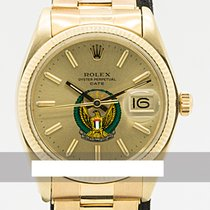 Rolex 1503 Yellow gold 1979 Oyster Perpetual Date 34mm pre-owned