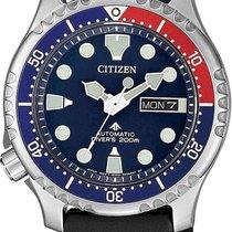 Citizen Promaster Marine Acero 42mm Azul