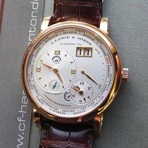 A. Lange & Söhne Lange 1 116.032 A.Lange & Söhne 1 Time Zone NEU B & P Neu Roségold 41.9mm Handaufzug Deutschland, Eltville