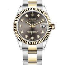 Rolex Datejust Gold/Steel Grey