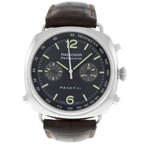 Panerai Radiomir Rattrapante Steel 45mm Black Arabic numerals United States of America, New York, New York