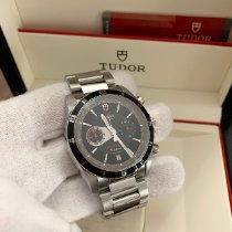 Tudor Grantour Chrono Fly-Back Steel 42mm Black No numerals United States of America, Florida, Miami Beach