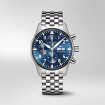 IWC Steel 43mm Blue Arabic numerals