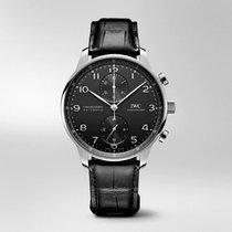 IWC IW371609 Acero Portuguese Chronograph 41mm nuevo