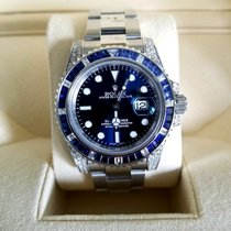 Rolex Submariner Date Acero 40mm Azul Sin cifras