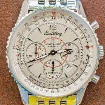 Breitling Montbrillant Steel 38mm Silver No numerals United States of America, Texas, Plano