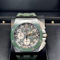 Audemars Piguet Ceramic Automatic Green Arabic numerals 44mm new Royal Oak Offshore Chronograph