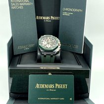 Audemars Piguet Royal Oak Offshore Chronograph Ceramic 44mm Green Arabic numerals United States of America, New York, NEW YORK
