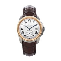 Cartier Steel 38mm Automatic W2CA0002 pre-owned