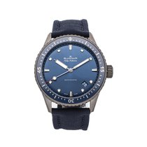 Blancpain Ceramic 43.6mm Automatic 5000-0240-O52A pre-owned