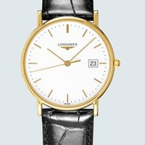 Longines Présence Yellow gold 33.5mm White No numerals United States of America, New York, Bellmore