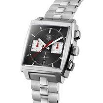 TAG Heuer Monaco neu 2021 Automatik Chronograph Uhr mit Original-Box und Original-Papieren CBL2113.BA0644