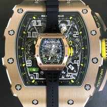 Richard Mille RM 011 RM11-03 RG New Rose gold Automatic