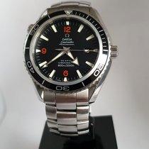Omega Seamaster Planet Ocean Steel 45.5mm Black Arabic numerals United Kingdom, Sheffield