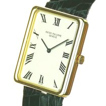 Patek Philippe Golden Ellipse новые 1975 Механические Часы с оригинальными документами и коробкой 3599