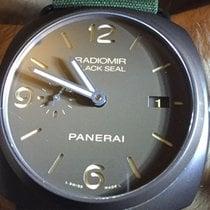 Panerai Radiomir Black Seal 3 Days Automatic Ceramic 45mm Brown Arabic numerals United States of America, Indiana, Indianapolis
