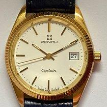 Zenith Captain Central Second Gelbgold 33mm Weiß Keine Ziffern Deutschland, Bingen am Rhein