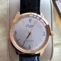 Glashütte Original Sixties Or rose 39mm Argent Arabes