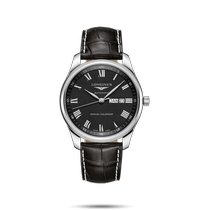 Longines Master Collection Steel 42mm Black Roman numerals United States of America, New York, Bellmore