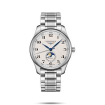 Longines Master Collection Steel 42mm Silver Arabic numerals United States of America, New York, Bellmore