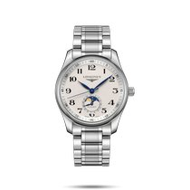 Longines Master Collection Steel 40mm Silver Arabic numerals United States of America, New York, Bellmore