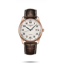 Longines Master Collection Rose gold 40mm Silver Arabic numerals United States of America, New York, Bellmore