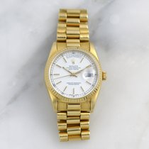 Rolex Day-Date 36 Or jaune 36mm Blanc Sans chiffres France, Bordeaux