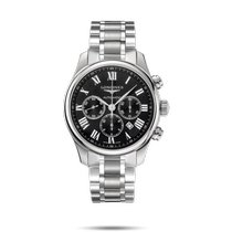 Longines Master Collection Steel 44mm Black Roman numerals United States of America, New York, Bellmore
