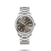 Longines Master Collection Steel 40mm Grey Roman numerals United States of America, New York, Bellmore