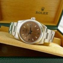 Rolex Oyster Perpetual 31 Stål 31mm Rosa Arabisk