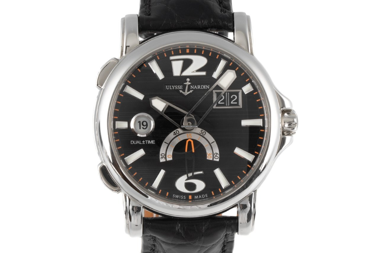 Ulysse Nardin Dual Time 243-55 2011 pre-owned
