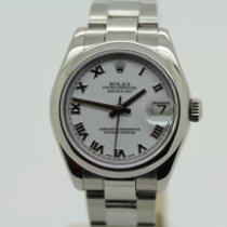 Rolex Lady-Datejust Stahl 31mm Weiß