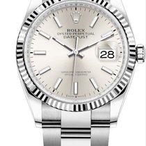 Rolex Datejust Gold/Steel Silver