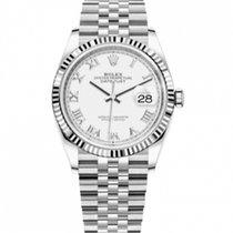 Rolex Datejust Gold/Steel White