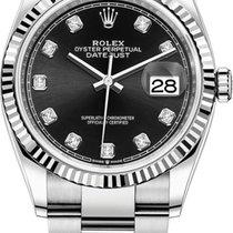 Rolex Datejust Gold/Steel Black