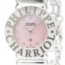 Charriol St-Tropez Silver 24mm Pink
