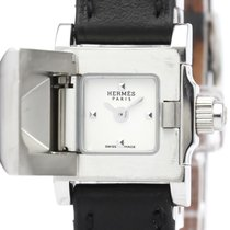 Hermès Médor Steel 17mm Silver