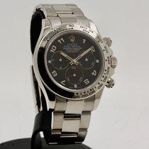 Rolex Daytona Oro blanco 40mm Negro Arábigos