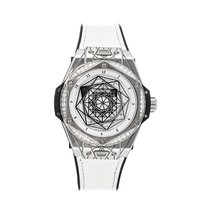 Hublot Big Bang Sang Bleu Acero 39mm Blanco