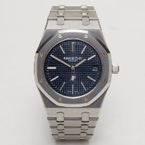 Audemars Piguet Royal Oak Jumbo occasion 39mm Bleu Date Acier