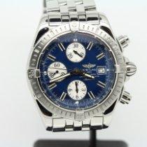Breitling Chronomat Evolution Acero 44mm Azul Sin cifras