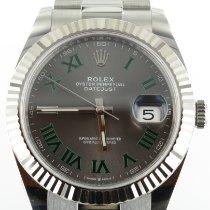 Rolex Datejust II Сталь 41mm Cерый Римские