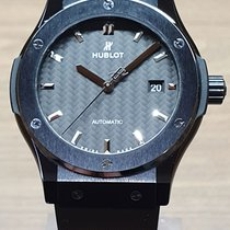Hublot Classic Fusion 45, 42, 38, 33 mm Ceramika 42mm Czarny Bez cyfr