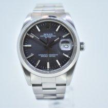 Rolex Oyster Perpetual Date Steel 34mm Grey No numerals United Kingdom, Ross On Wye