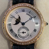 Breguet Yellow gold 30mm Manual winding Breguet Classique Moonphase pre-owned Singapore